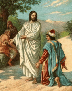 rich young ruler and Jesus