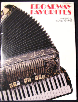 You Love To Hate Accordion Music Book Review Broadway