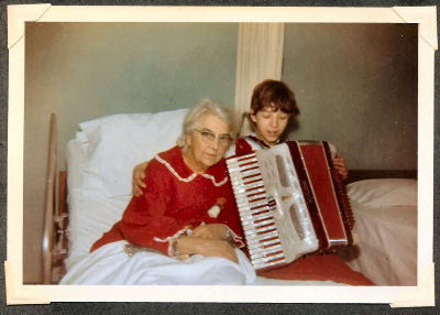 14th birthday gift of accordion
